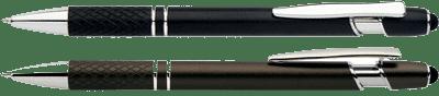 sophisticated-looking metal Grid Stylus pens