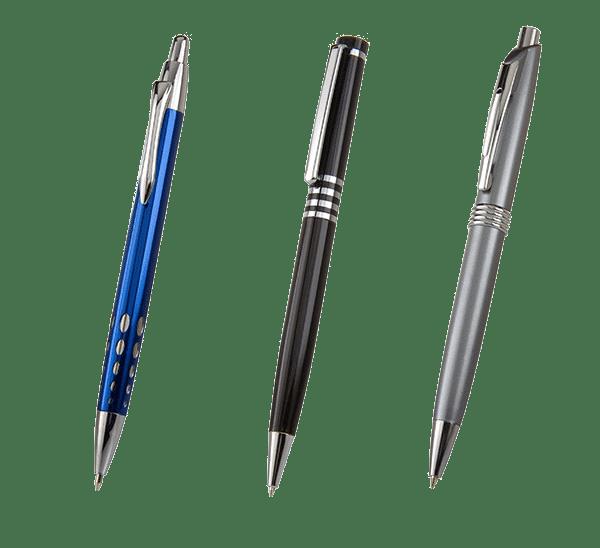 3 Metal Promotional Pens