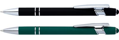 rubber version of popular Grid Stylus (P220) Metal Pens