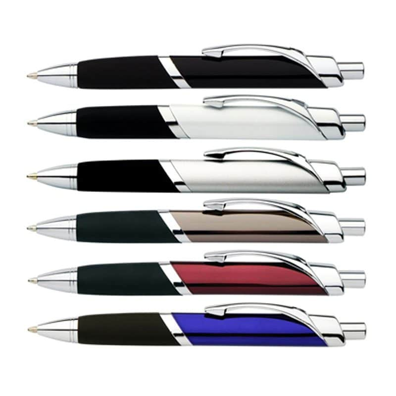 P56 Tri-Grip Full Metal Pen Chrome